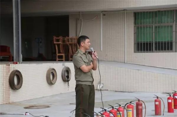 志成红木顺利举行2017年消防安全演习培训